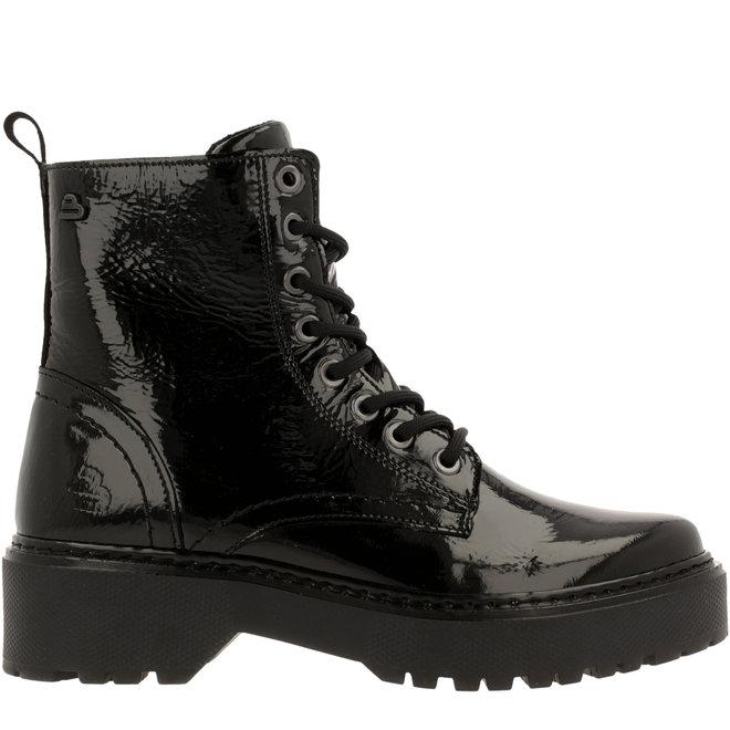 Biker Boots Black 750M80661AP594TD