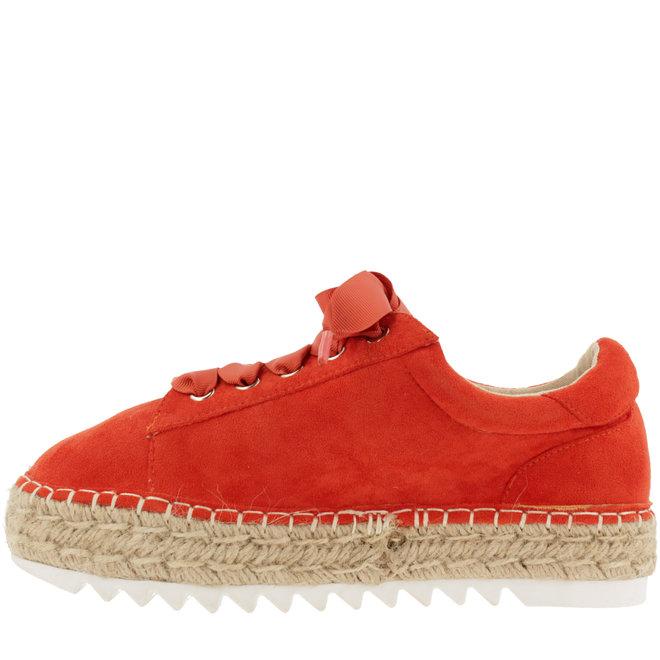 Espadrille with laces Coral 155003F5T_CORLTD