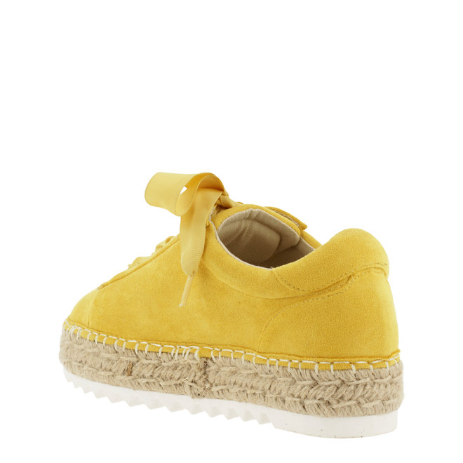 Espadrille with laces Yellow 155003F5T_ODYWTD