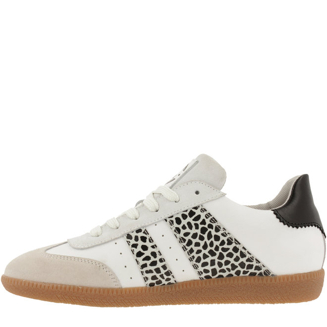 Sneaker Weiß mit SchwarzWeiss-Druck 930000E5L_OFBKTD