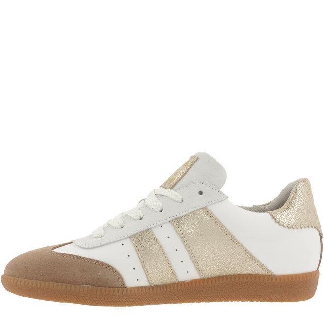 Sneaker Weiß mit Gold 930000E5L_PLTNTD