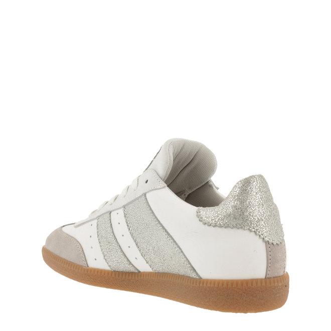 Sneaker Wit met Zilver 930000E5L_SLVRTD