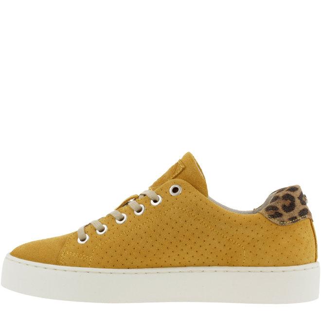 Sneaker Gelb mit Leoprint 962065E5C_YEBRTD