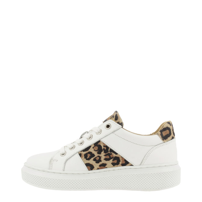Sneaker White with Panterprint ALG001E5L_WNATKB