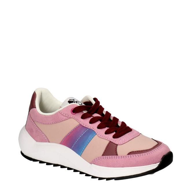 Sportlicher Sneaker Lila 001001F5T_LILCTD