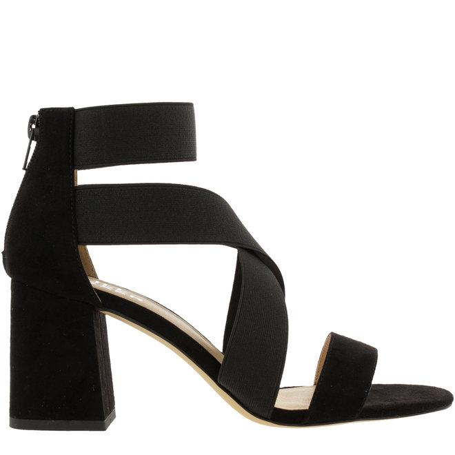 Sandale mit Blockabsatz Schwarz 041500F2T_BLCKTD
