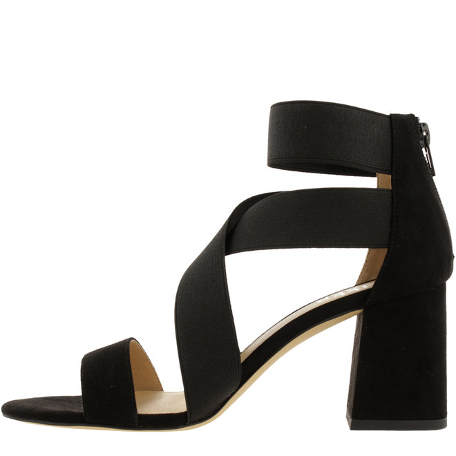 Sandal with Heel Black 041500F2T_BLCKTD
