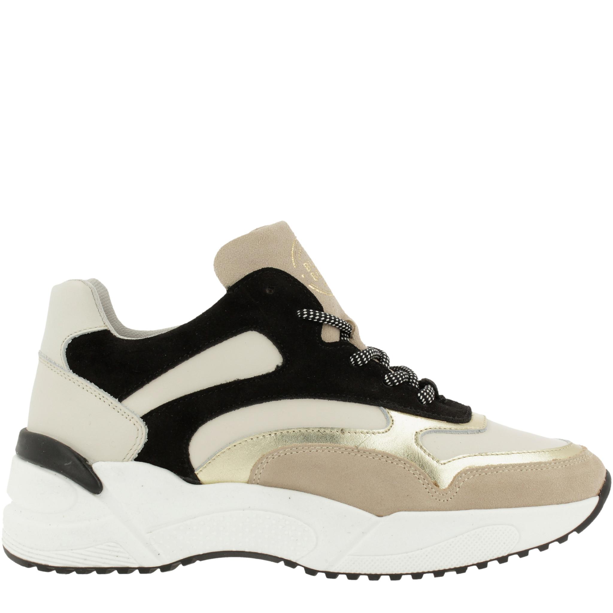 Bullboxer Sneaker Black Beige
