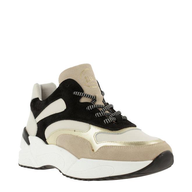 Sneaker Zwart Beige 750000E5L_BLCKTD
