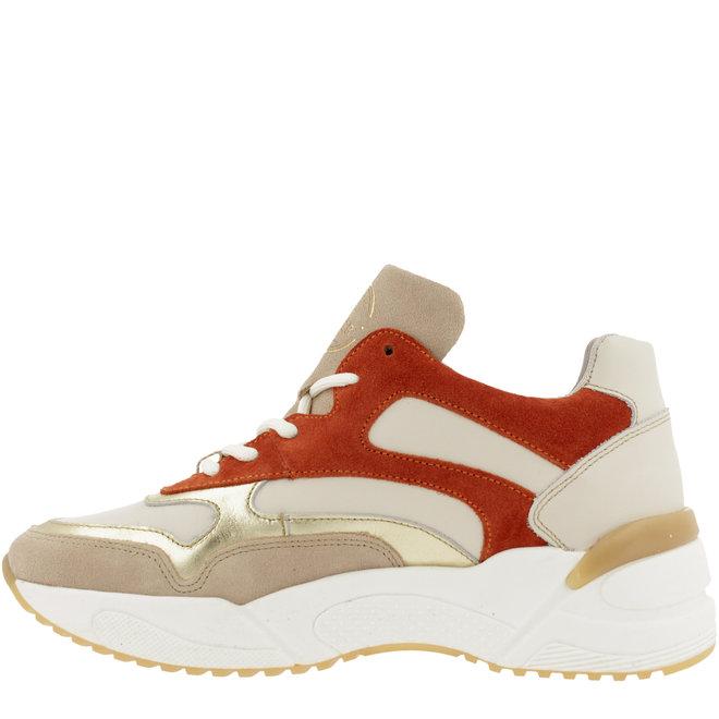 Sneaker Red Beige 750000E5L_GINGTD
