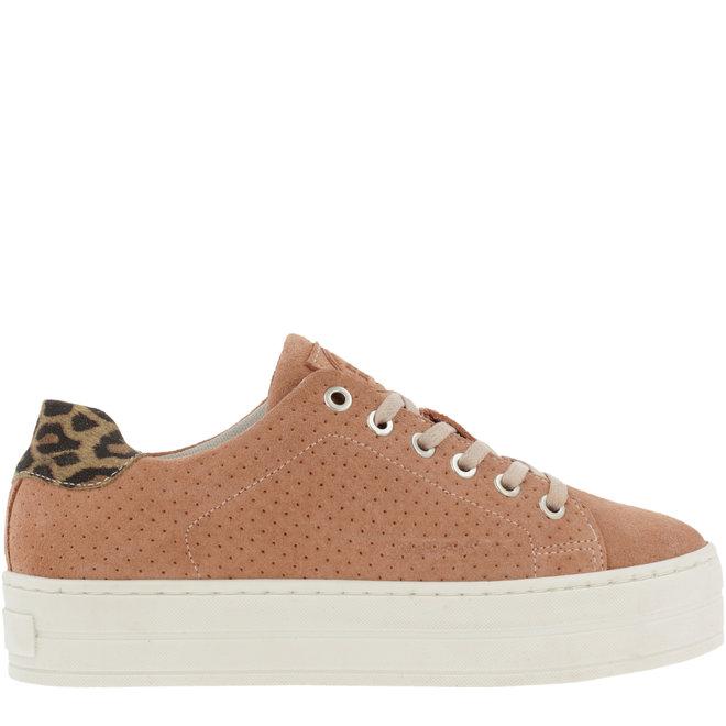 Sneaker Rosa Plateausohle