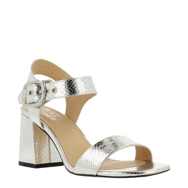 Silver Sandal with Heel 041002F2S_SLVRTD