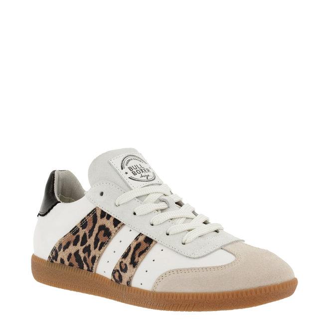 Sneaker Weiß mit Leoprint 930000E5L_MINKTD