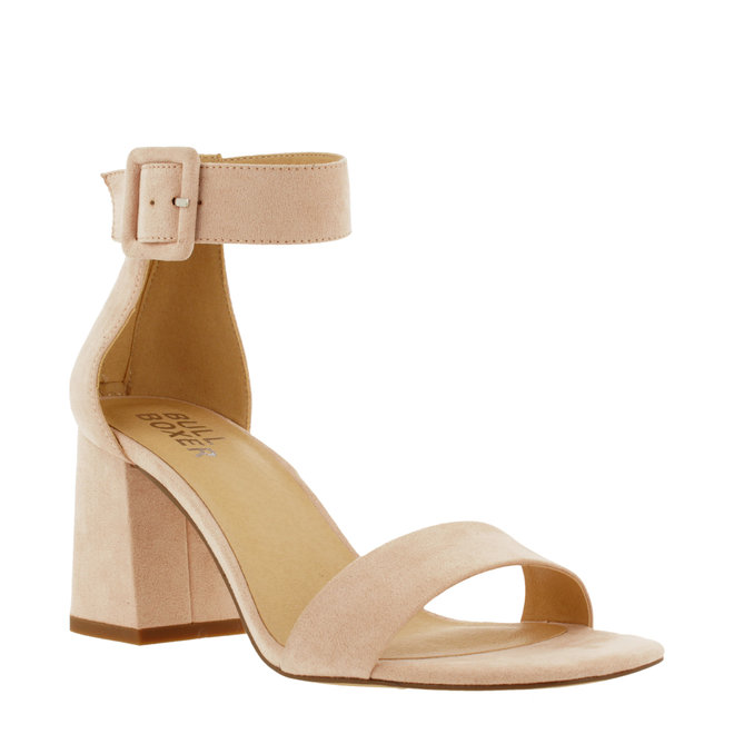 Sandale mit Blockabsatz Rosa 041001F2T_DSPKTD