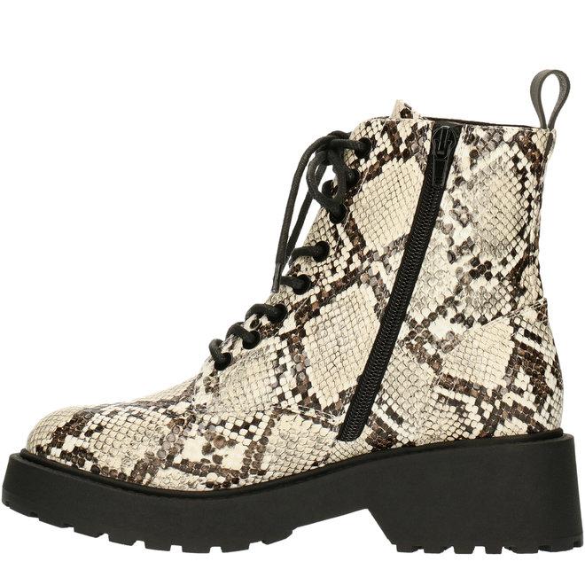Biker Boots Snakeprint 020500F6S_OFWHTD