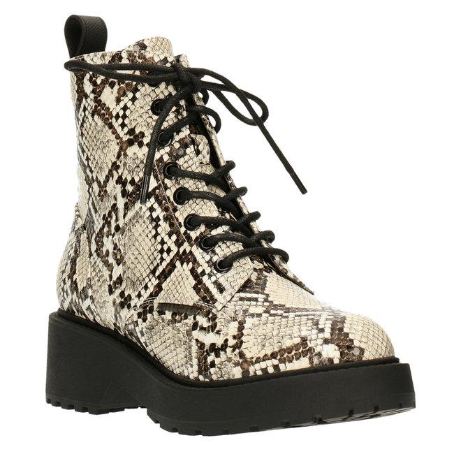 Biker Boots Slangenprint 020500F6S_OFWHTD