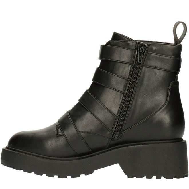 Biker-Boots Schwarz 020501F6S_BLCKTD