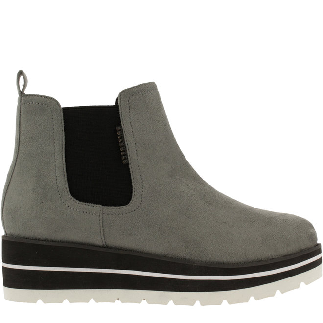 Ankle Boots Grey with Wedgeheel