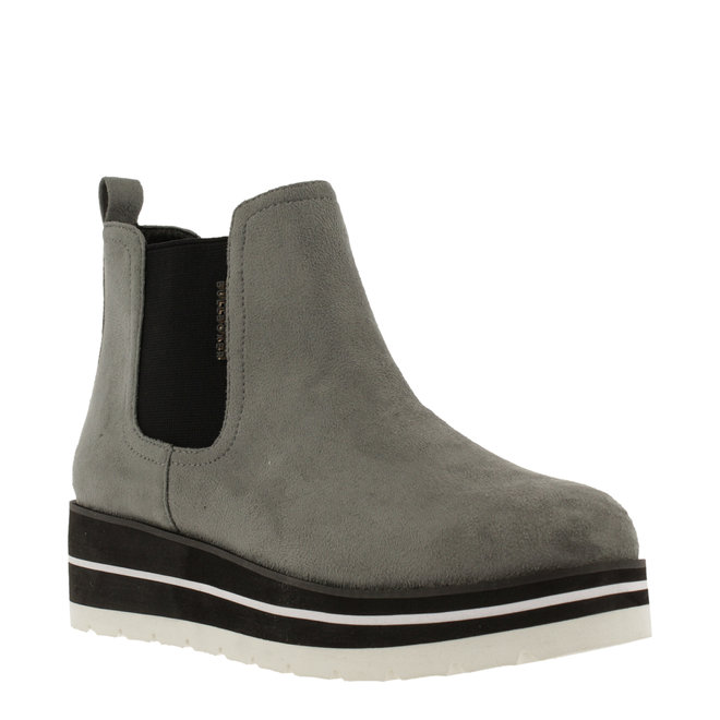 Ankle Boots Grey with Wedgeheel 074524F6T_MOUSTD
