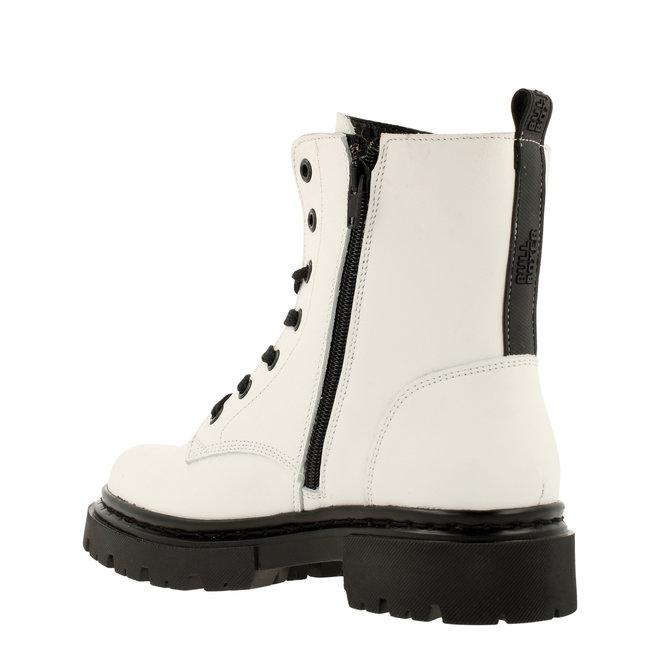 Biker-Boots Weiß 610504E6L_WHITTD