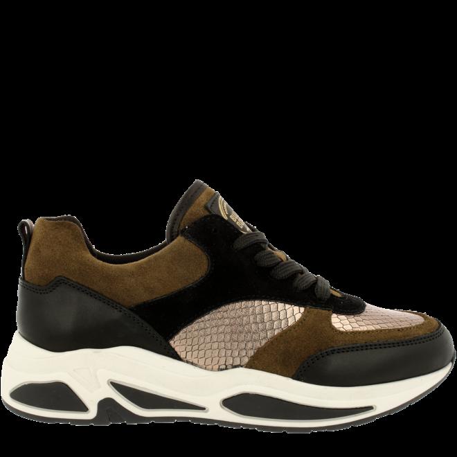 Sneaker Zwart/Bruin