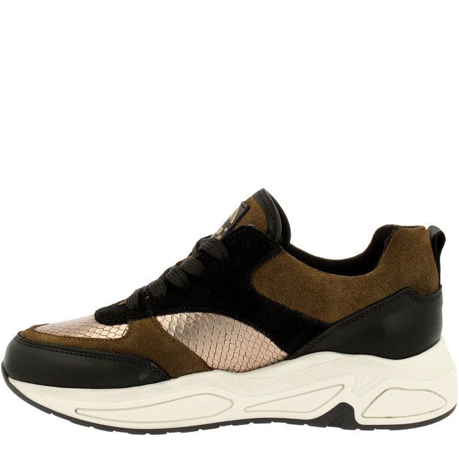 Sneaker Zwart/Bruin 295003E5LABKBRTD