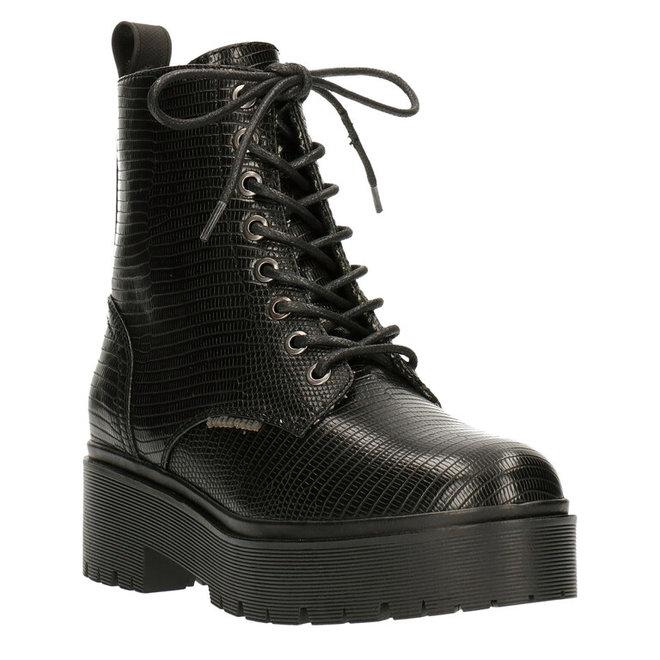 Biker Boots Black 129500F6S_BKRPTD