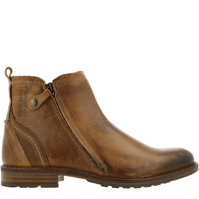 Chelsea-Boots Cognacfarben