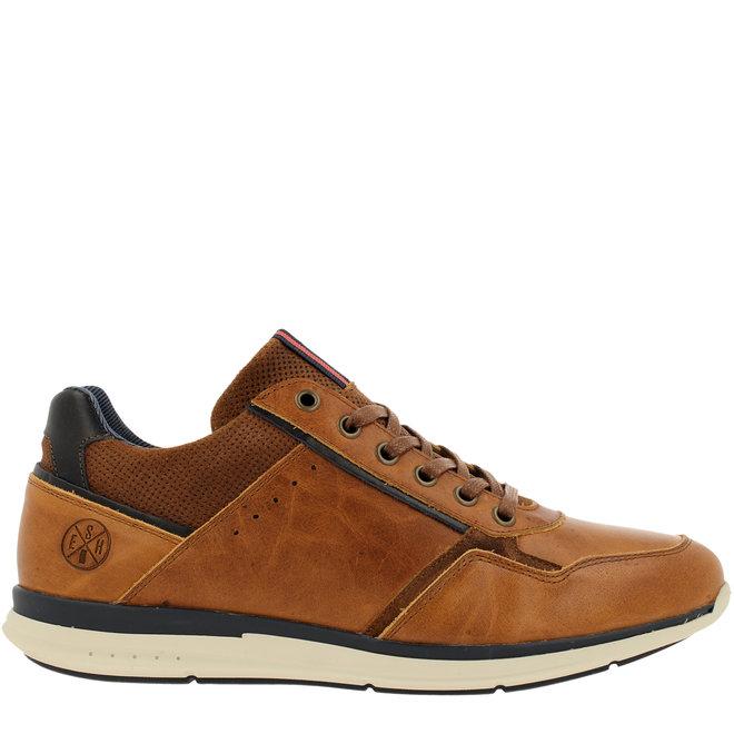 Sneaker Cognacfarben