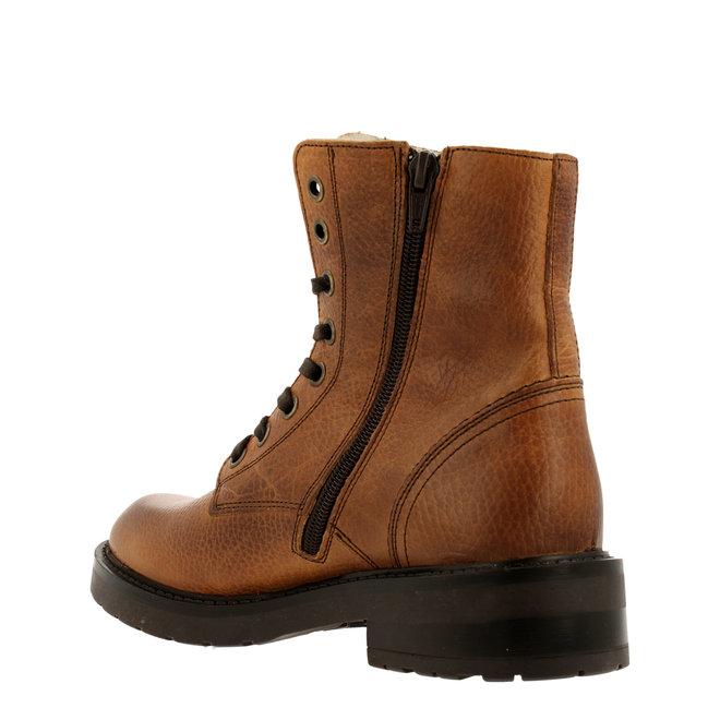Biker-Boots Cognacfarben 333M82701G7CGNTD
