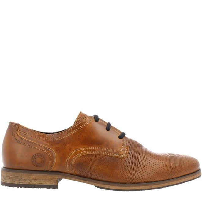 Lace-up Shoes Cognac