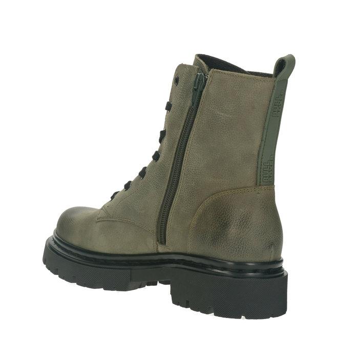 Biker Boots Green 610504E6LEBTLETD