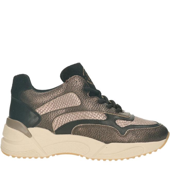 Sneaker Champagnerfarbe 750000E5L_CHAMTD