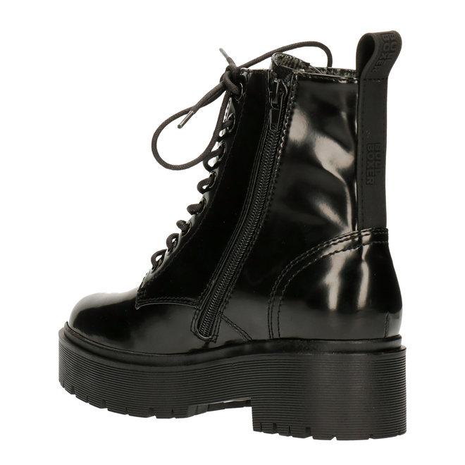 Biker Boots Black 129500F6S_BKBSTD