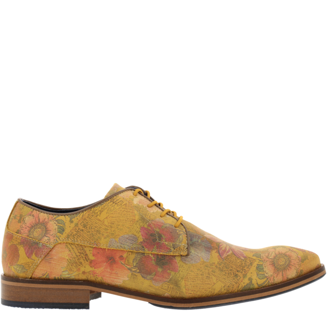 Lace-up Shoes Yellow