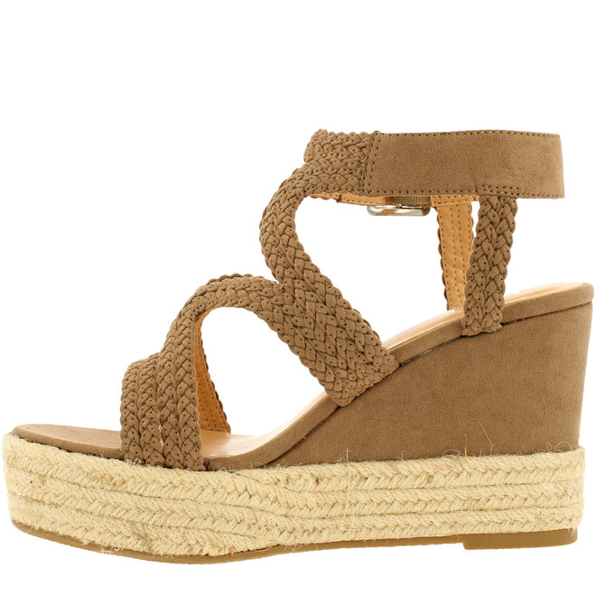 Wedge Heels Taupe 175030F2T_TAUPTD
