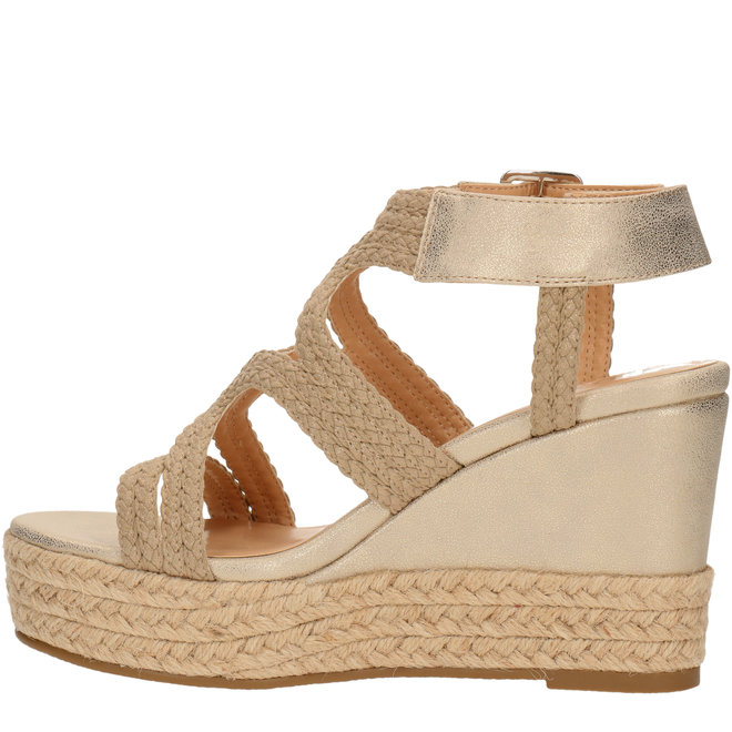 Wedge Heels Gold 175030F2S_PLTNTD