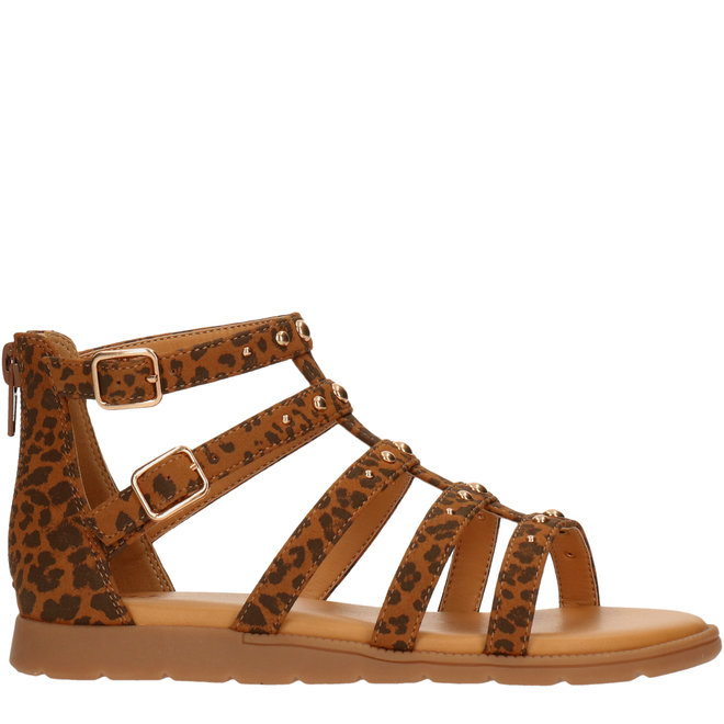 Sandals Cognac