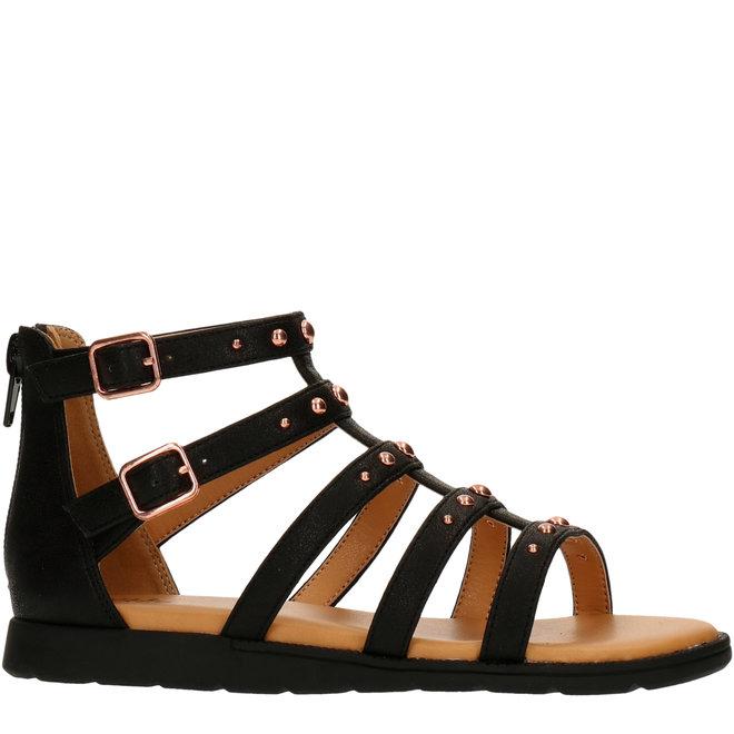 Sandals Black AGG021F1S_BLCKKB