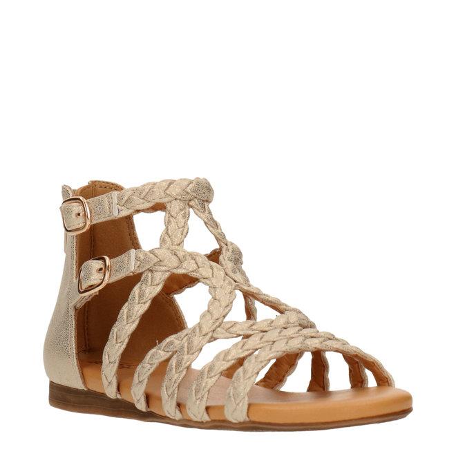 Sandals Gold AED070F1S_PLTNKB