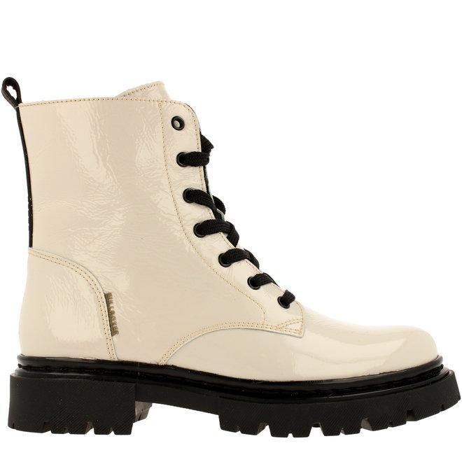 Biker Boots White 610504E6LCOFBKTD
