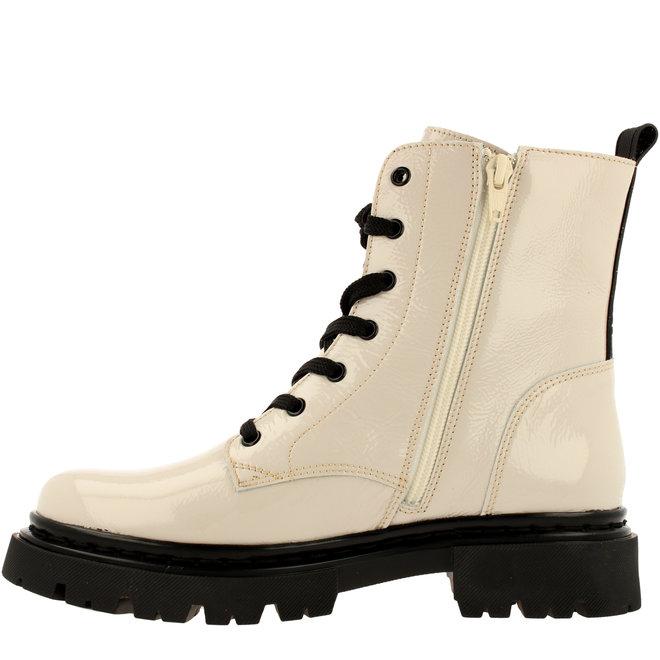 Biker-Boots Weiß 610504E6LCOFBKTD