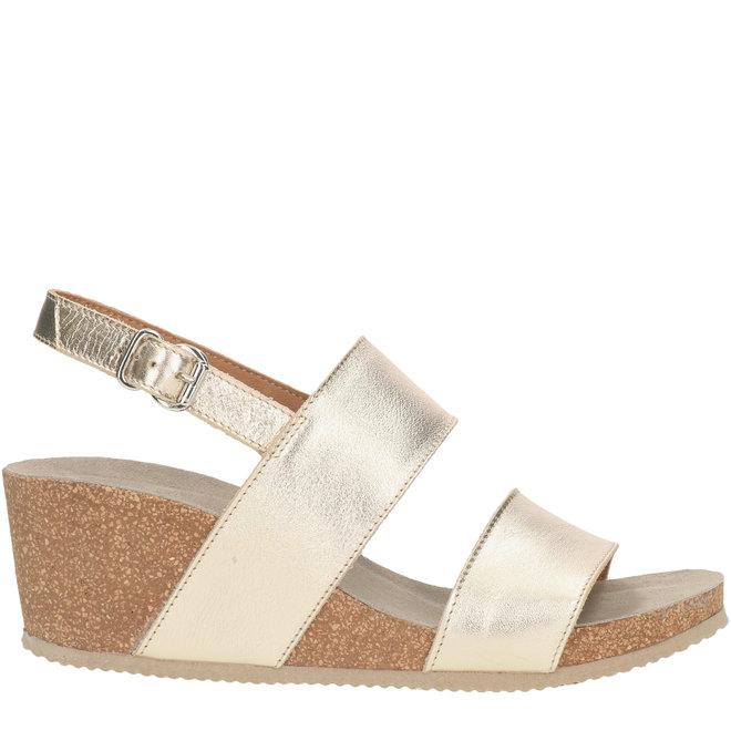 Sandals Gold 502002E2L_PLTNTD