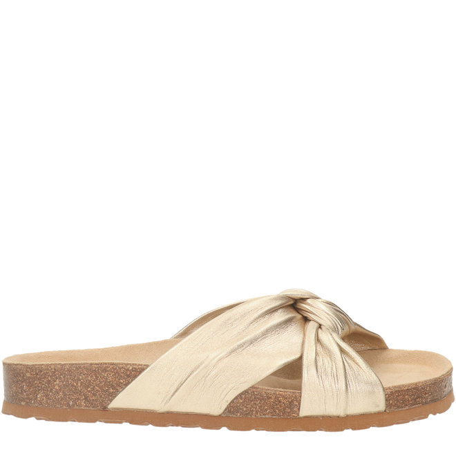 Slippers Goud