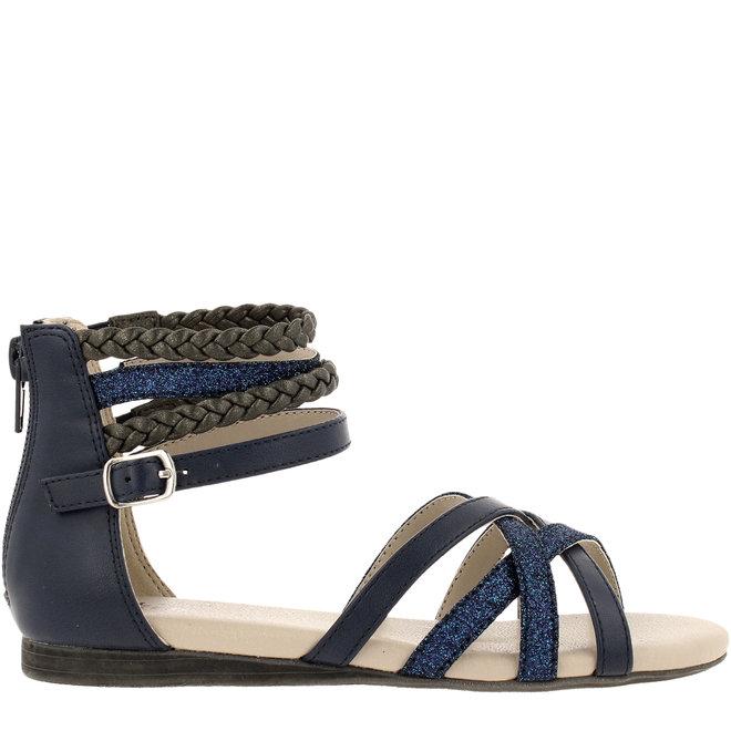 Sandale Blau