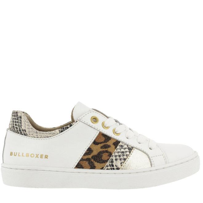 Sneaker White with Panter- en Snakeprint