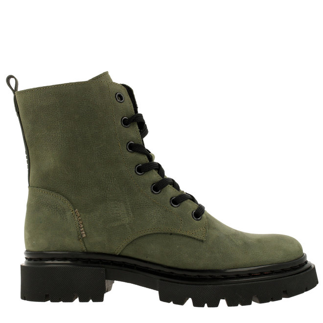 Ankle boot/Bootie Green
