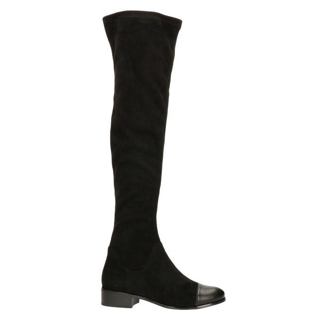 Over the knee boot Black
