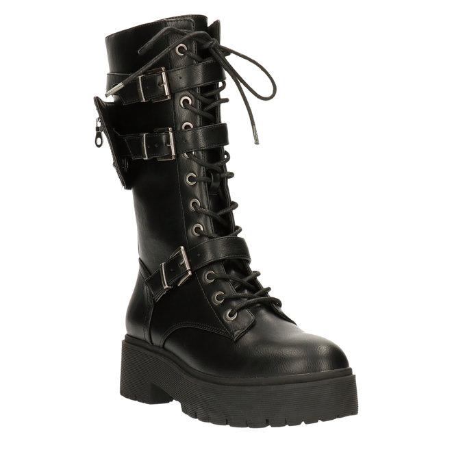 Stiefel Schwarz 129516F6S_BLCKTD