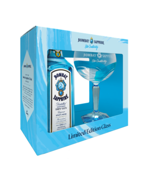 Bombay Sapphire 70cl + Limited Edition Balloon Glass